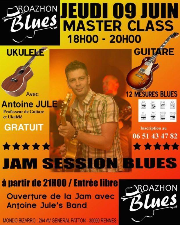 Jam session blues Rennes