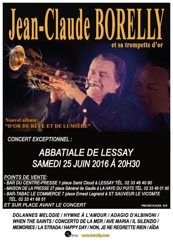 Jean-Claude Borelly et sa Trompette d'Or Lessay