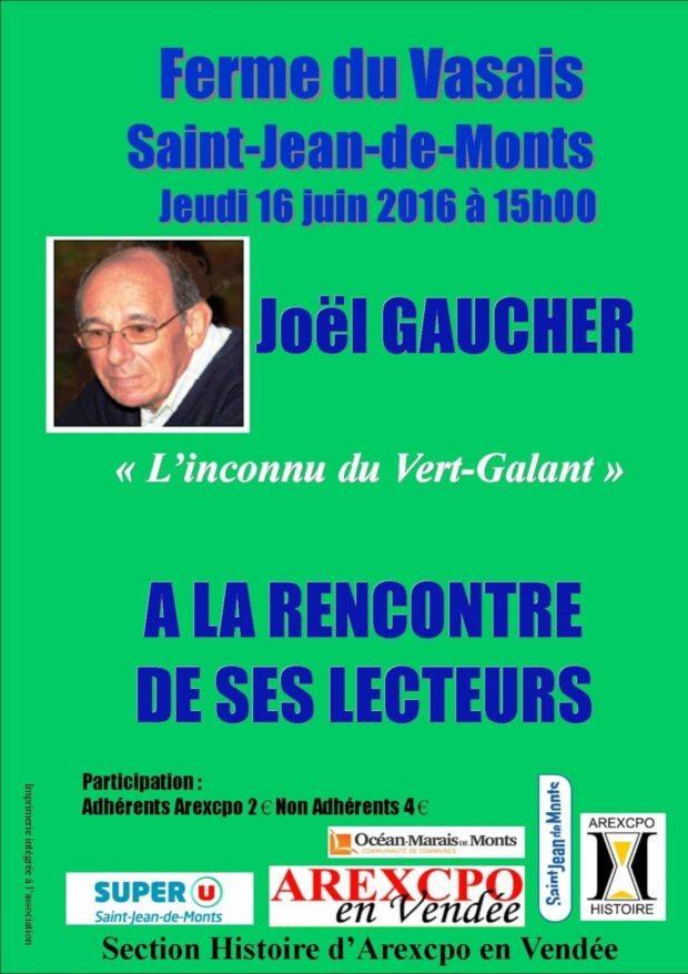 Joël Gaucher L'inconnu du Vert Galant Saint-Jean-de-Monts
