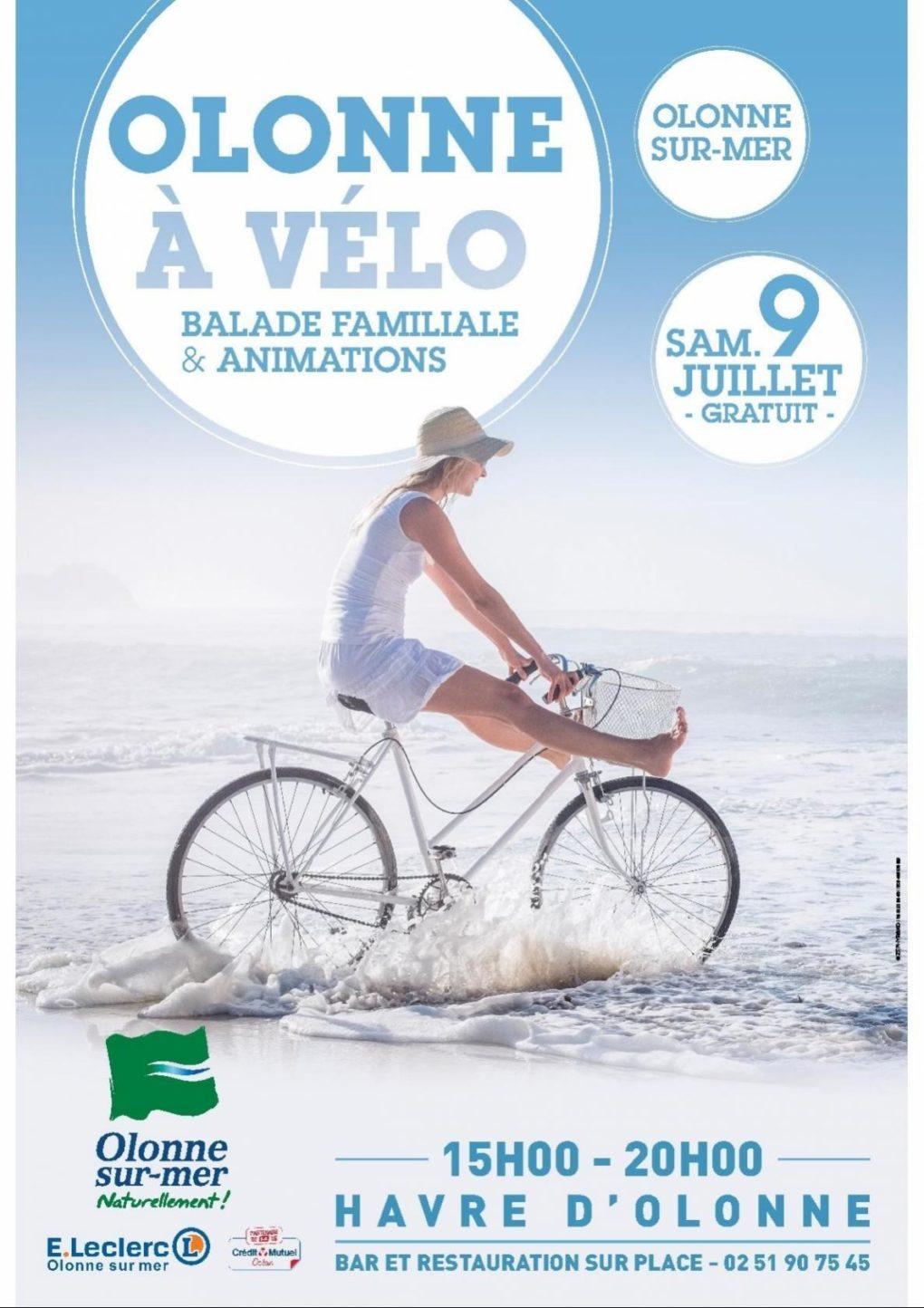 Journée Olonne à vélo et soirée festive Olonne-sur-Mer