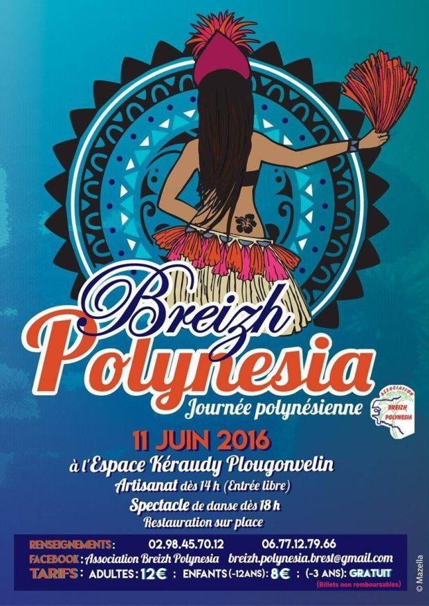 Journée polynésienne association Breizh Polynesia Plougonvelin