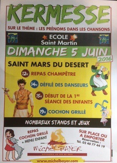 Kermesse Saint-Mars-du-Désert