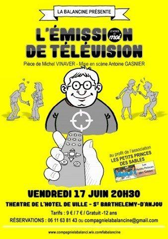 L'émission télévision par Compagnie Balancine Saint-Barthélemy-d'Anjou