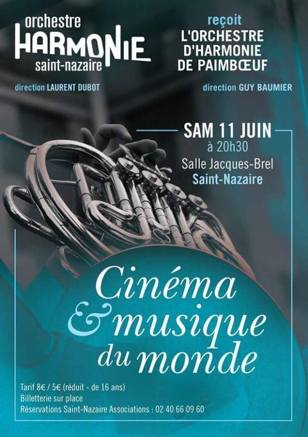 L'Orchestre d'Harmonie Saint Nazaire reçoit L'Orchestre Paimbœuf Saint-Nazaire