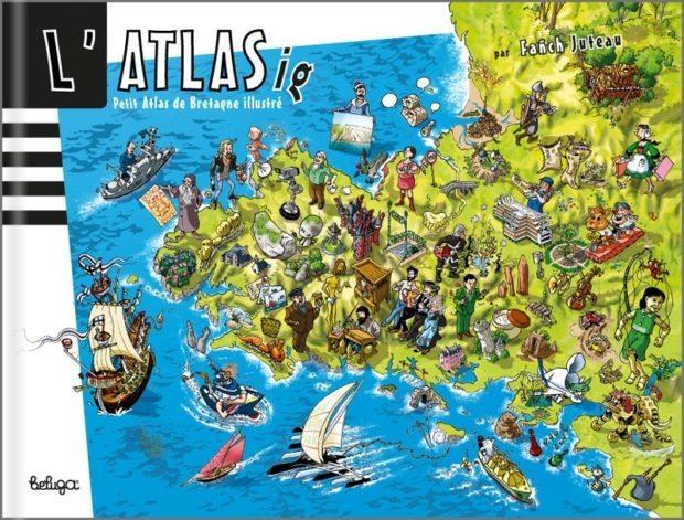 L'ATLASig Petit Atlas Bretagne illustré Fañch Juteau Saint-Nazaire