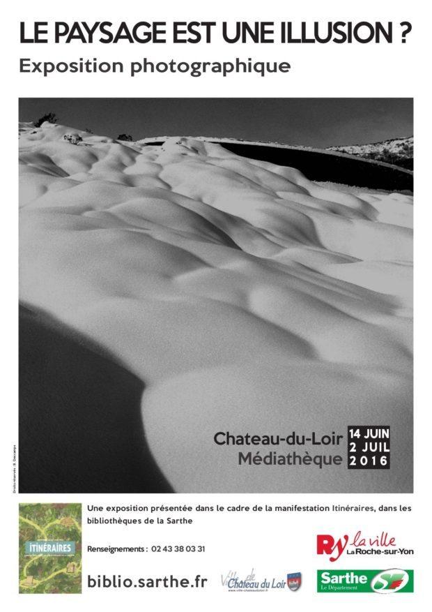Le paysage est-il une illusion ? Château-du-Loir