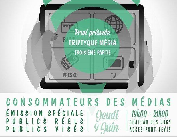 Les consommateurs des médias Nantes