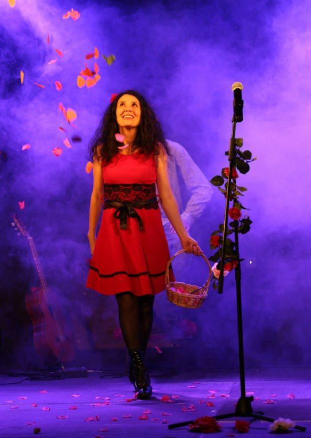 Les épines de Mymi Rose en concert Barbâtre