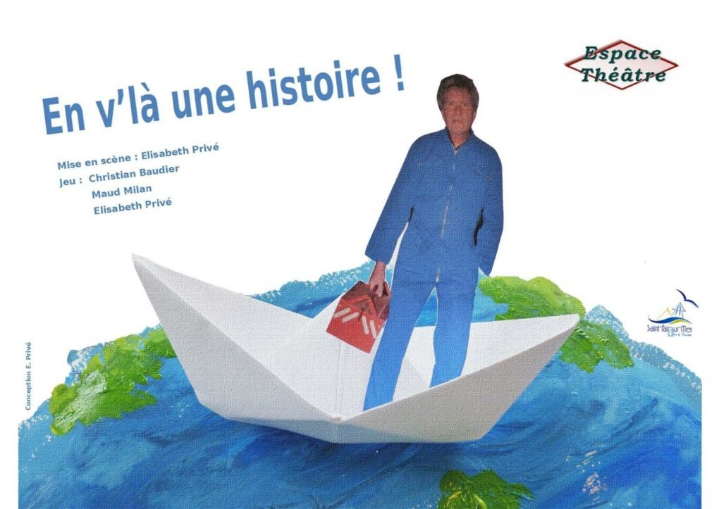 Les Estivales En v'la une histoire Cie Espace théâtre Isigny-le-Buat