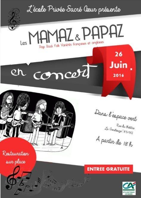 Les Mamaz & Papaz La Génétouze
