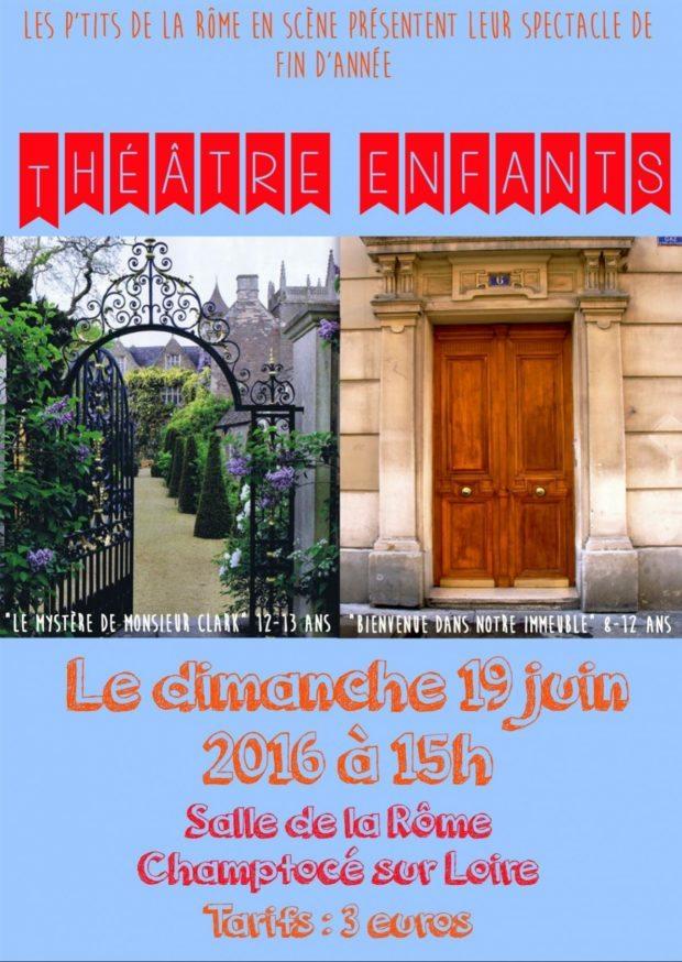 Les P'tits Rôme en scène Champtocé-sur-Loire