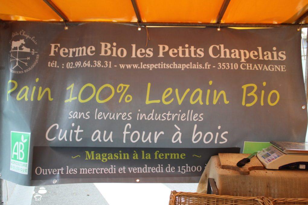 Marché bio Rennes
