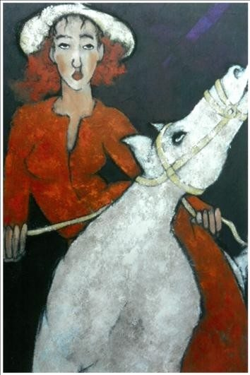 Maryse Lantoine peintre et Morley Troman sculpteur Guerlesquin