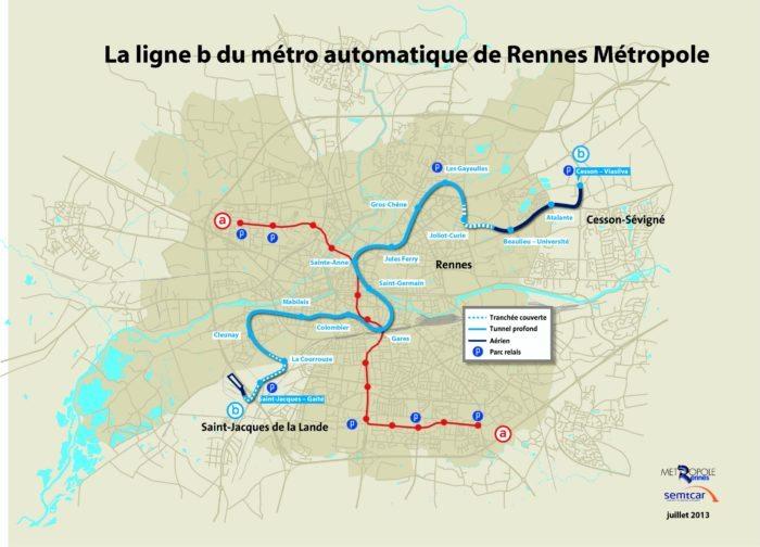 Metro ligne b