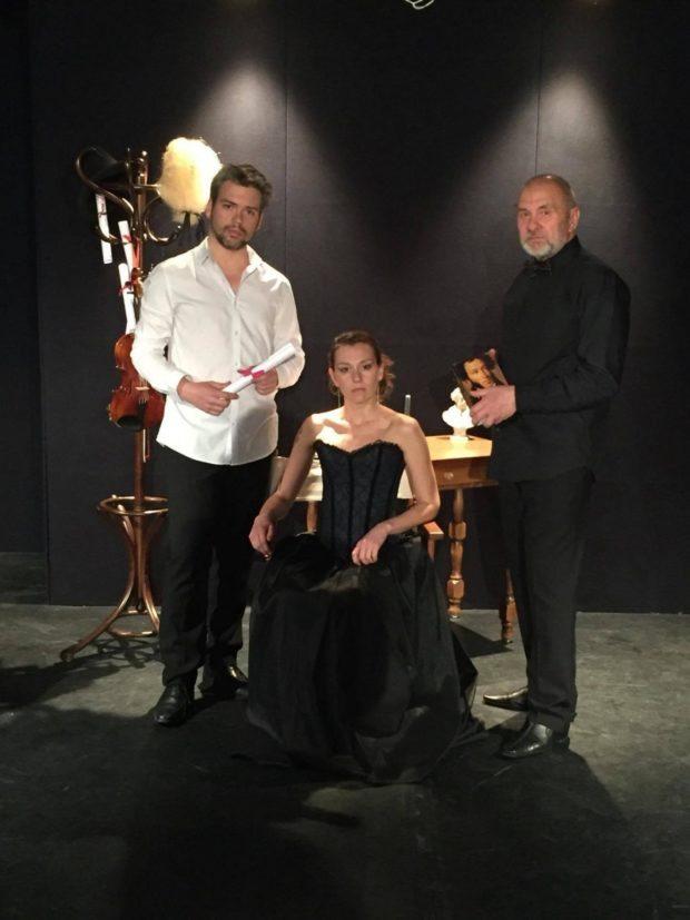Mozart et Salieri duel musical d'après A Pouchkine Rennes