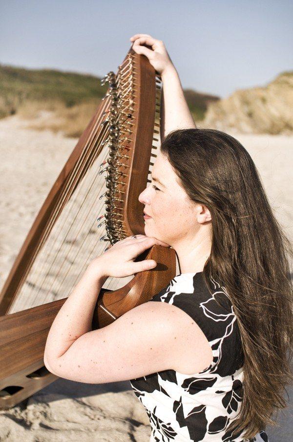 Nolwenn Arzel harpe celtique Saint-Avé