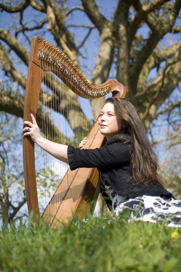 Nolwenn Arzel harpe celtique Pléneuf-Val-André