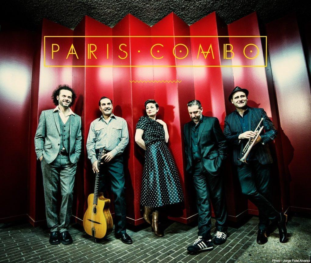 Paris Combo Swing Word music hexagonal Château-d'Olonne