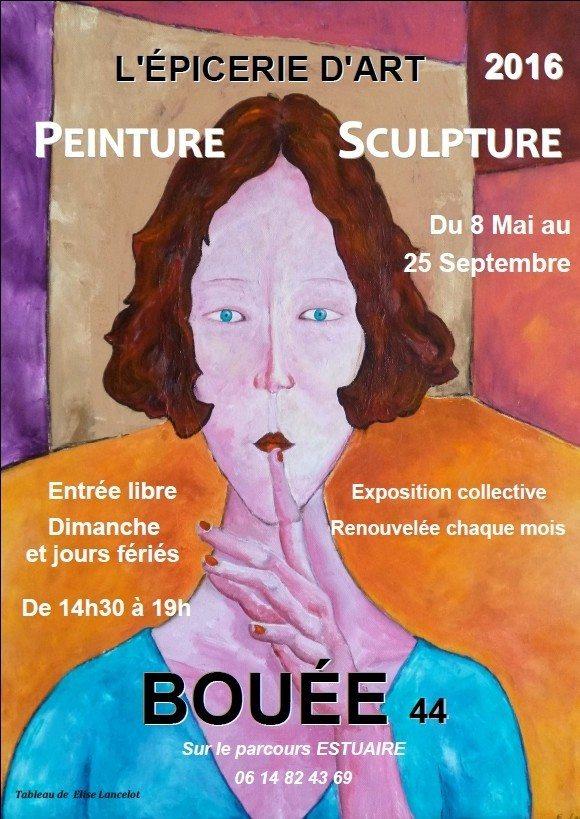 Peinture et sculpture Bouée