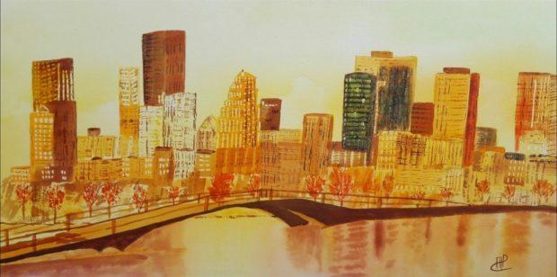 Peintures d'Annick Lainé Pontmain
