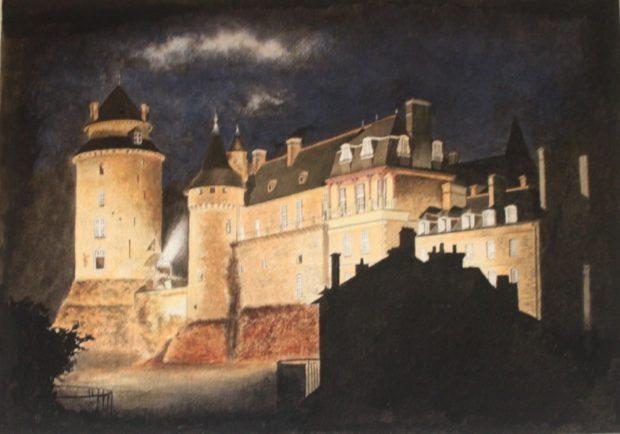 Peintures dessins portraits et caricatures Claude Robert Le Sel-de-Bretagne