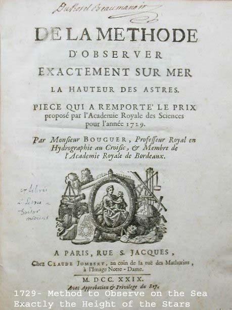 Pierre Bouguer un savant croisicais du XVIIIe siècle Le Croisic