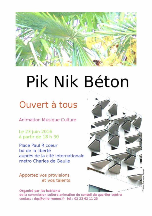 Pik Nik Béton