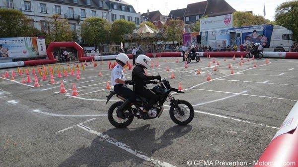 Piste moto CRS La Tranche-sur-Mer