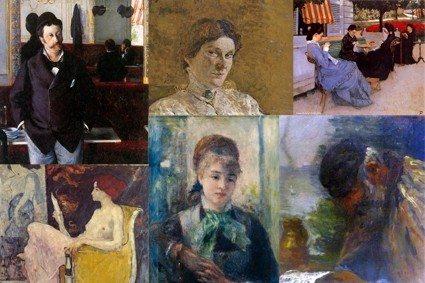 Portraits illustrés en musique Normandie impressionniste Houlgate