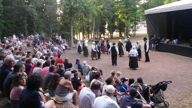 Pot d'accueil et danses traditionnelles Longeville-sur-Mer