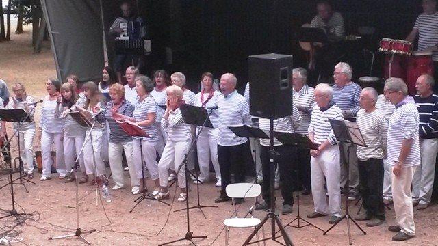 Pot d'accueil avec des chants marins Longeville-sur-Mer