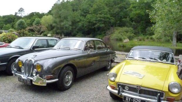 Rassemblement voitures anciennes Saint-Renan