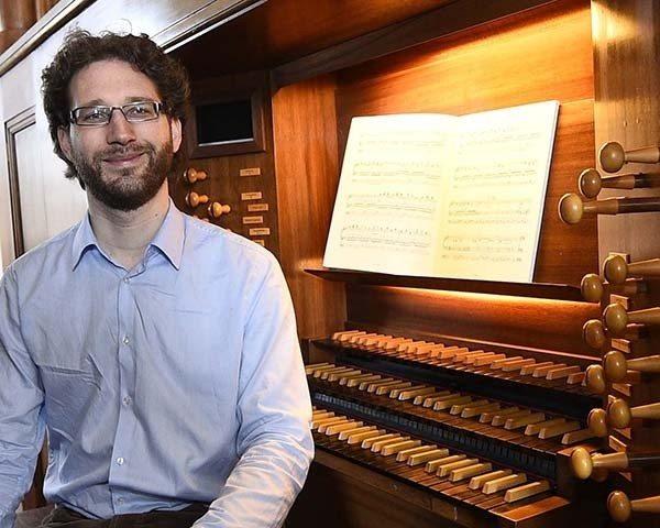Récital d'orgue avec Vincent Thévenaz Caen