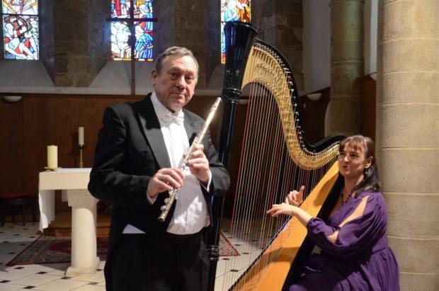 Récital flûte et harpe Ploubazlanec