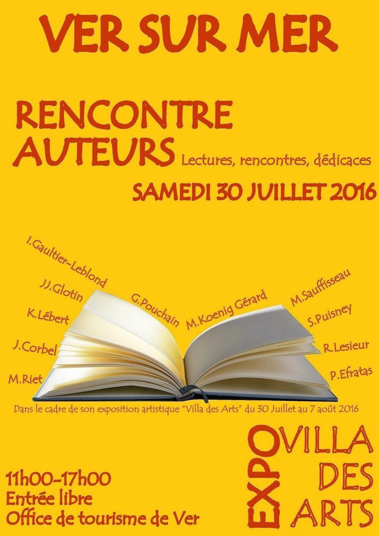 Rencontre auteurs 5e art à l'honneur à Vil des Arts ! Ver-sur-Mer