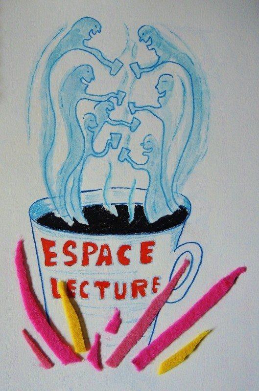 Salon littéraire l'espace lecture Carrefour 18 Rennes