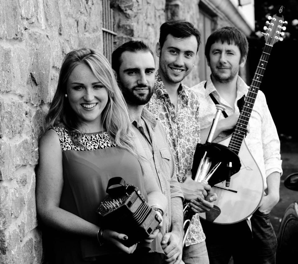 Session musique irlandaise autour des musiciens Four Winds Trégastel