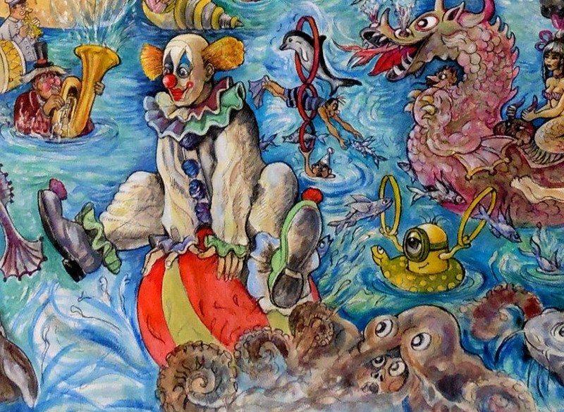 Si un tableau m'était conté exposition de Jo Le Bouder Saint-Jacut-de-la-Mer