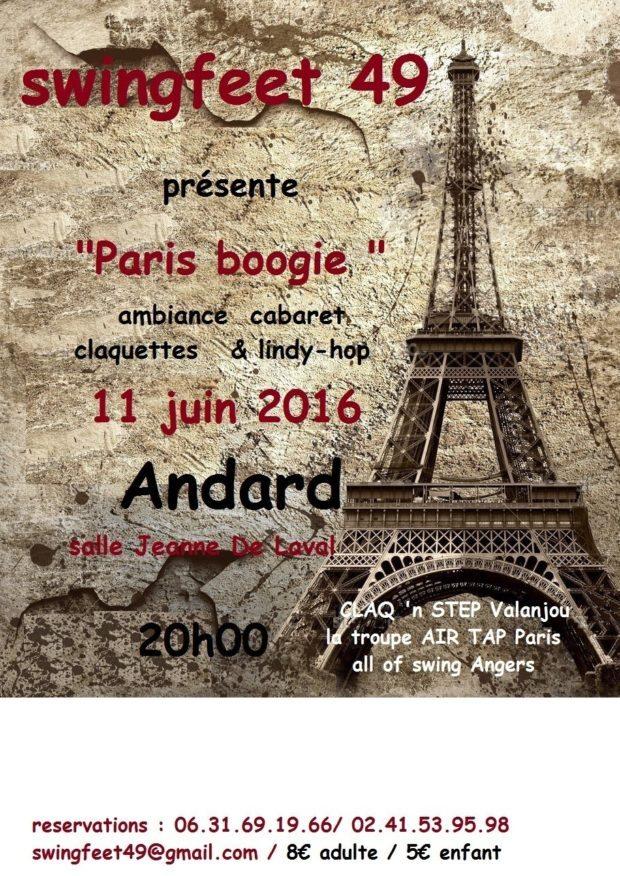 Spectacle cabaret Loire-Authion