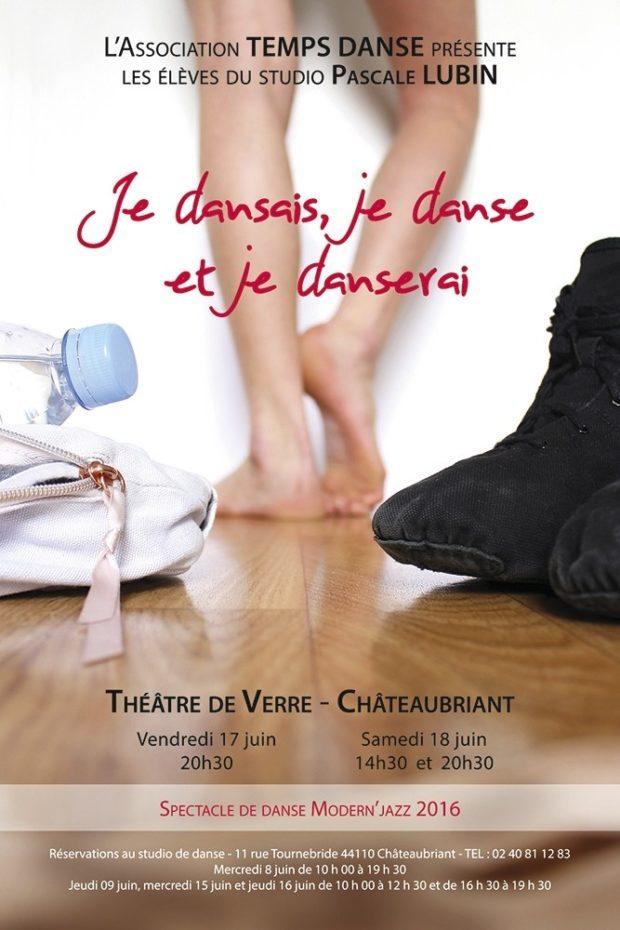 Spectacle fin d'année l'association Temps Danse Châteaubriant