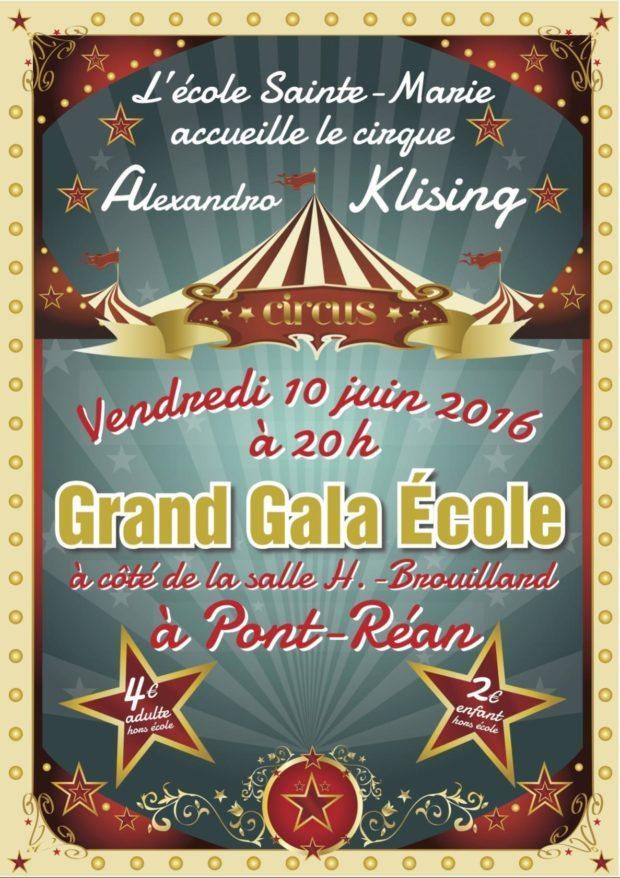 Spectacle l'école cirque à Pont-Réan Guichen