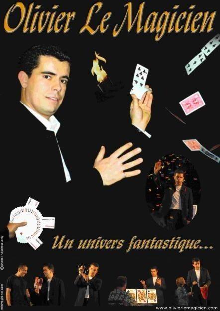Spectacle de magie avec Olivier le Magicien Les Epesses