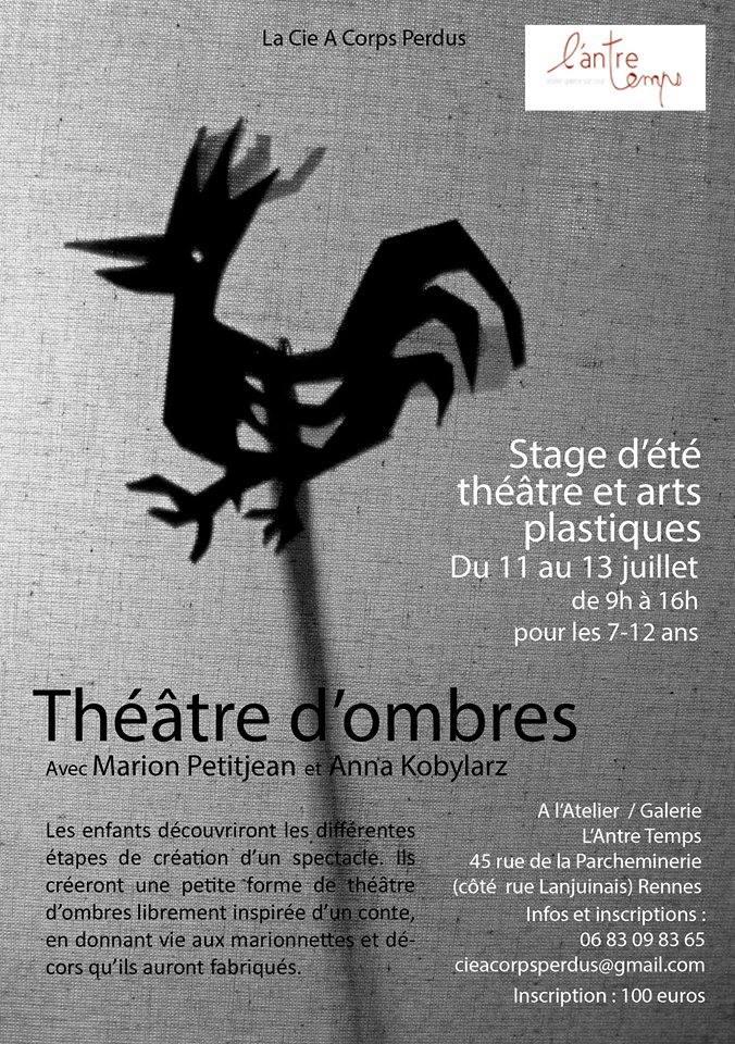 stage théâtre rennes