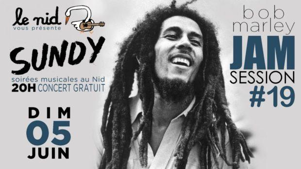 Sundy Jam Session #19 (Bob Marley) Nantes