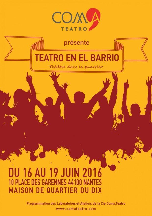 Teatro en el barrio Nantes