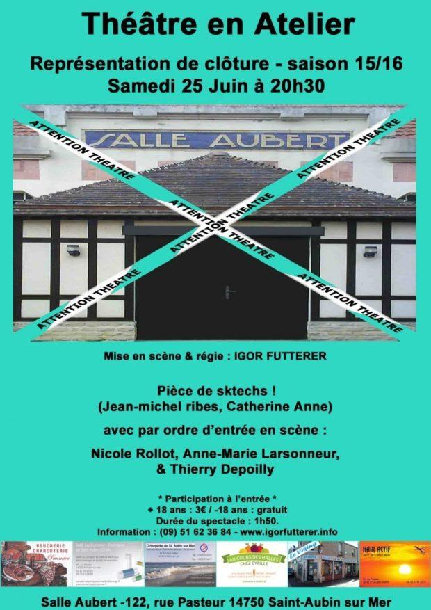 Théâtre en atelier Saint-Aubin-sur-Mer