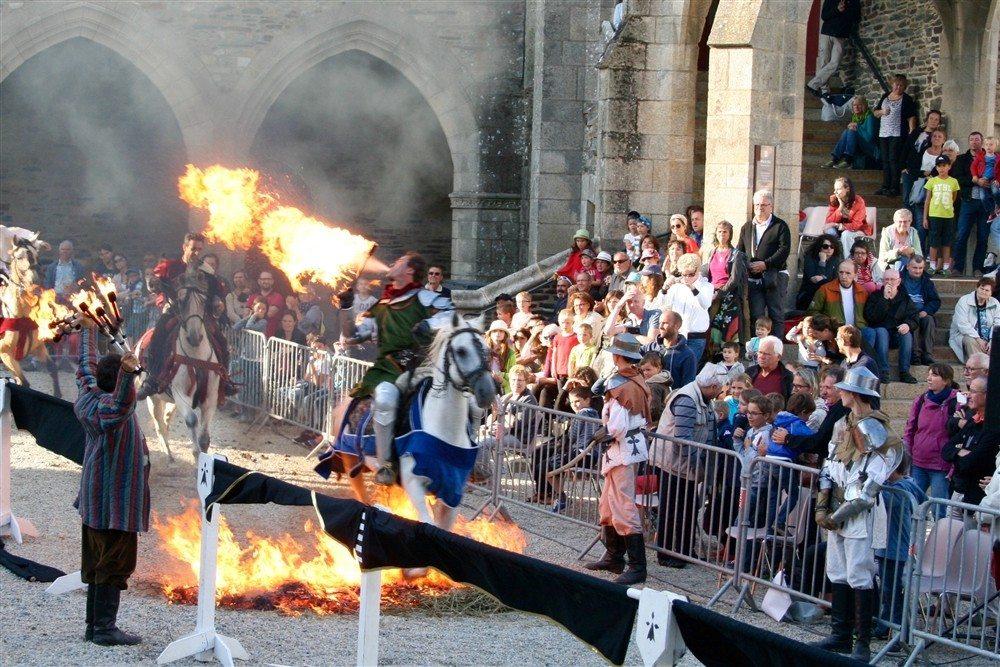 Tournoi chevalerie Epiniac