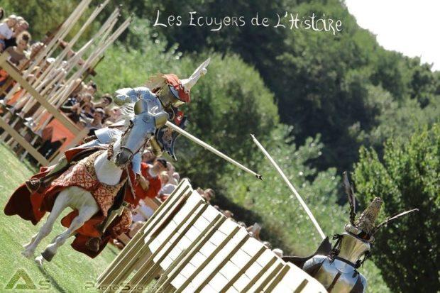 Tournoi joute équestre l'Ordre Saint-Michel Écuillé