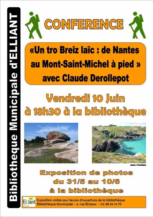 Un tro Breiz laïc Nantes au Mont-Saint-Michel à pied Elliant