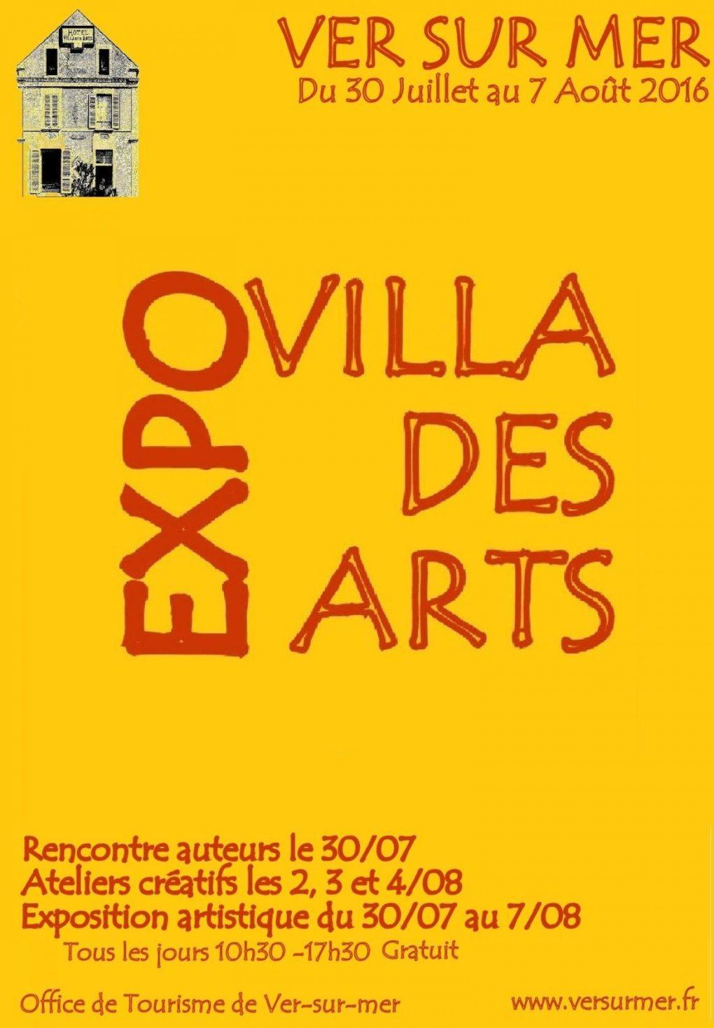 Villa des arts le rendez-vous estival des artistes de Ver Ver-sur-Mer